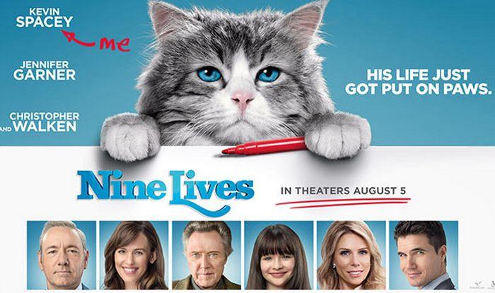 รีวิวหนัง Nine Lives แมวเก้าชีวิต เพี้ยนสุดโลก