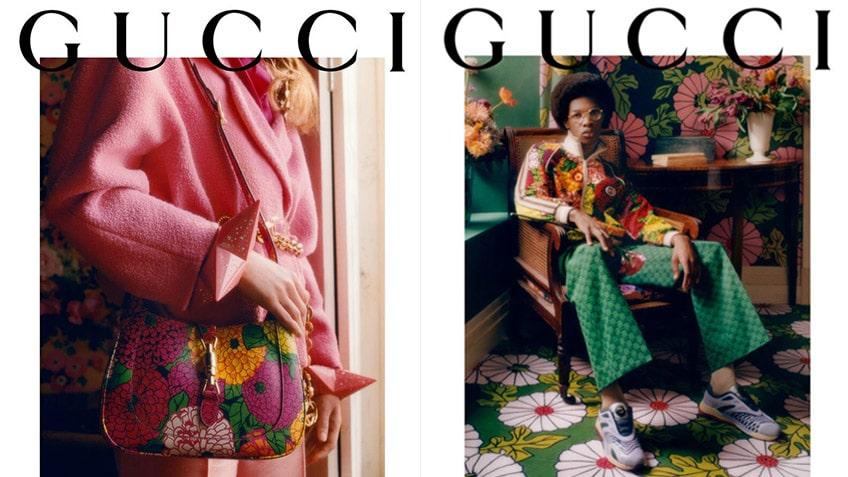 รีวิว แฟชั่น Gucci Ken Scott คอลเลคชั่นลายดอกไม้