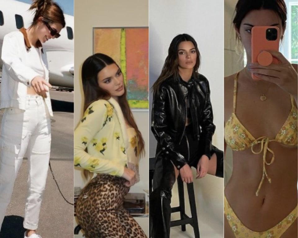 รีวิว แฟชั่น Kendall Jenner หุ่นปัง สมกับเป็นนางแบบระดับโลก