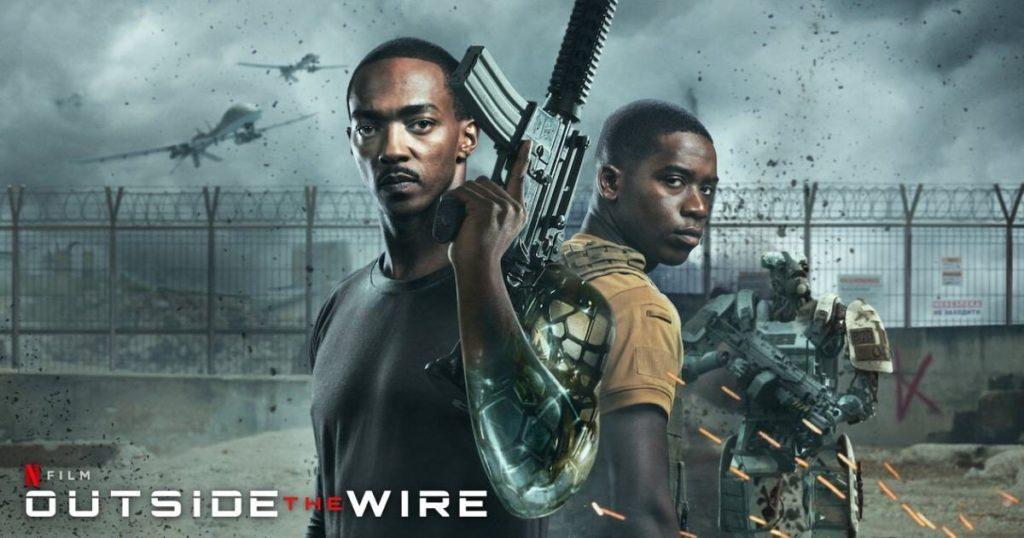 รีวิวหนัง Outside The Wire สมรภูมินอกลวดหนาม