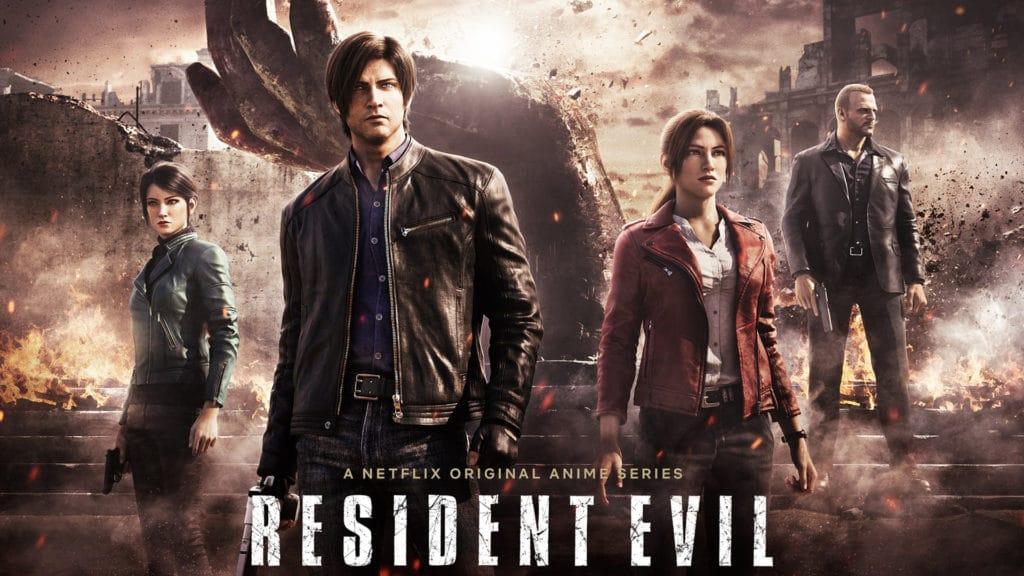 รีวิวหนัง Resident Evil Infinite Darkness Netflix