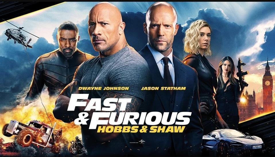 รีวิวหนัง Fast and Furious : Hobbs & Shaw Netflix