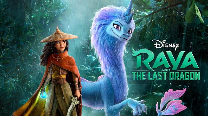 รีวิวอนิเมชั่น Raya and the last dragon Disney+Hotstar
