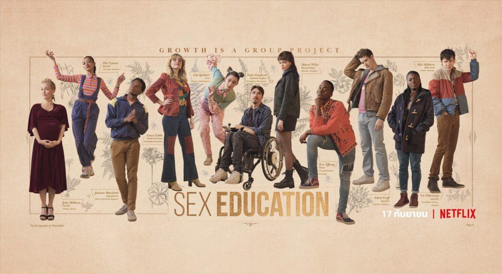 รีวิวหนัง Sex Education Netflix